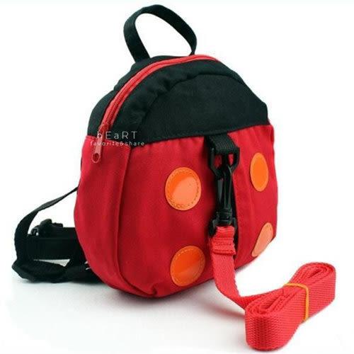 可愛瓢蟲防走失背包 兒童背包 瓢蟲背包 兒童防走失