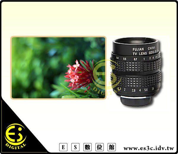 Nikon 1系列 V1 V2 V3 J1 J2 J3 J4 J5 專用 CCTV C-mount 25mm/F1.4 35mm F1.7 雙鏡頭雙鏡 轉接環 組合