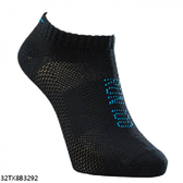Mizuno Socks [32TX8B3292] 男襪 運動 慢跑 路跑 薄底 裸襪 黑藍 25-27cm