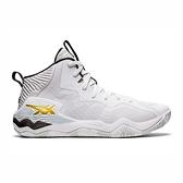 Asics Nova Surge [1061A027-102] 男鞋 籃球鞋 支撐 保護 緩衝 舒適 穩定 彈性 白 金