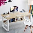 電腦桌 臺式筆記本簡易家用辦公小桌子簡約現代寫字臺書桌宿舍臥室