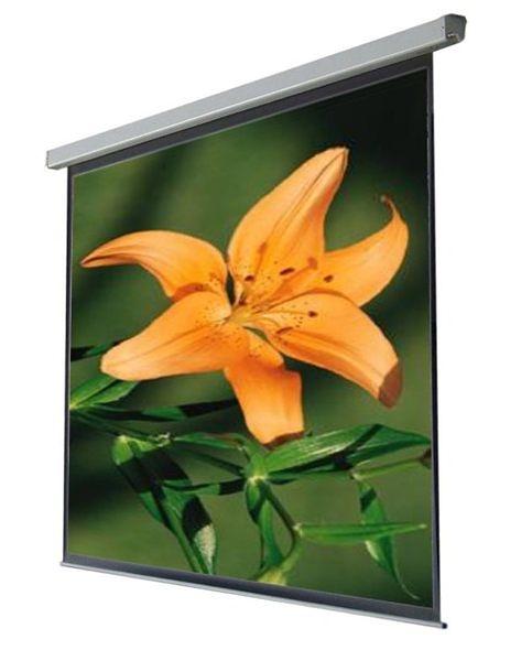 [kamas卡瑪斯投影機銀幕] 98吋電動式靜音投影布幕184×186 cm 席白投影幕 二年原廠保固 含稅含運