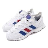 adidas 休閒鞋 SL 7600 白 藍 紅 男鞋 BOOST 復古慢跑鞋 運動鞋【PUMP306】 FW6375
