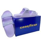 【樂樂童鞋】GOODYEAR台灣製女款輕量拖鞋-粉紫 G013 - 女童鞋 拖鞋 大童鞋 沙灘鞋 室內鞋 台灣製