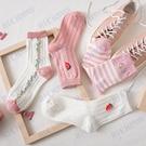 日系甜美可愛少女粉色中筒襪韓國ins潮蜜桃學院風森系襪子