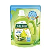 (箱購)茶樹莊園-茶樹天然濃縮酵素洗衣精補充包1300gX6包