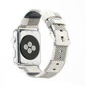 適用apple watch皮帶蘋果手錶皮細表帶iwatch1/2/3女生款38/42  遇見生活