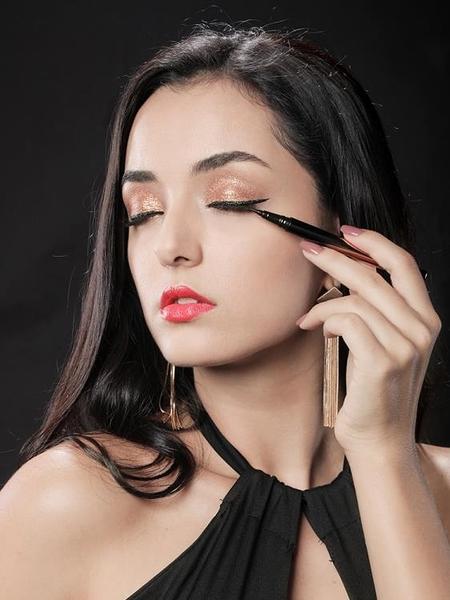 眼線筆女防潑水防汗不脫色持久眼線液不暈染初學者網紅眼線液膠推薦