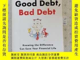 二手書博民逛書店32開英文原版罕見Good debt , bad debt : Knowing the difference ca