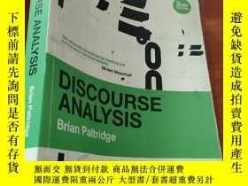二手書博民逛書店Discourse罕見AnalysisY259724 Brian Paltridge 著 Continuum