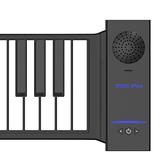 手卷鋼琴88鍵專業家用女初學者宿舍簡易摺疊電子鋼琴鍵盤便攜式NMS【美眉新品】