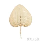 棕葉大蒲扇 天然手工草編織納涼芭蕉夏老人驅蚊傳統手搖扇子 錢夫人小鋪