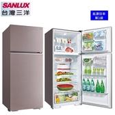 【台灣三洋家電】480L 1級定頻雙門電冰箱《SR-C480B1B》(香檳紫) 全新原廠保固