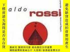 二手書博民逛書店Aldo罕見Rossi (obras Y Proyectos   Works And Projects)Y36