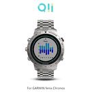 兩片裝 Qii GARMIN fenix Chronos 玻璃貼 鋼化玻璃貼 自動吸附 2.5D弧邊 手錶保護貼