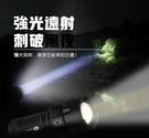 台灣現貨!手電筒 神魚t6防身多功能便攜戶外充電鋰電池led迷你超亮汽修探照