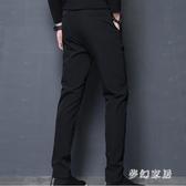 男士褲子薄款2019新款韓版潮流松緊腰長褲運動休閑褲 JH112『夢幻家居』
