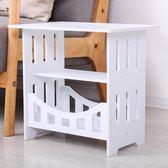 簡易小桌子沙發邊幾迷你方桌客廳簡約茶幾床邊收納櫃臥室床頭桌.YYS 港仔會社