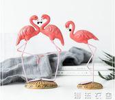 創意火烈鳥家居裝飾品結婚禮物客廳辦公桌擺設酒柜電視柜小擺件  潮流衣舍
