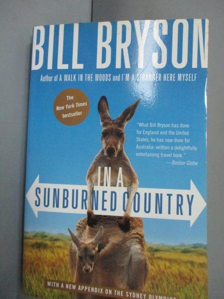 【書寶二手書T2/原文小說_JKG】In a Sunburned Country_Bryson, Bill
