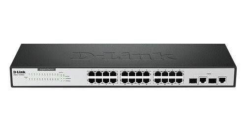 ◤全新品 含稅 免運費◢ D-Link DES-1026G 24埠10/100Mbps交換式集線器+2個1000BASE-T