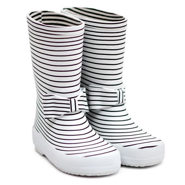 法國BOXBO 兒童雨鞋 / 雨靴-愛時尚系列(蝴蝶結)  時尚兒童雨鞋 / 防水雨靴 / 防滑橡膠雨鞋