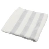 純棉紗布方巾 BORDER LGY 28×28 NITORI宜得利家居