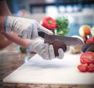 防切割手套家用廚房防割手套 切菜殺魚 耐磨防刺5級安全手套開生蠔木工手套  伊蘿