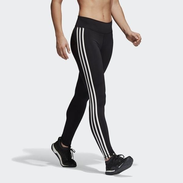 L- adidas TRAINING BELIEVE 女裝 長褲 緊身 慢跑 訓練 透氣 舒適 黑 CW0494