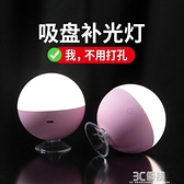 創意LED鏡前燈帶充電式化妝梳妝美妝台燈小燈泡洗漱洗手池免安裝 3C優購