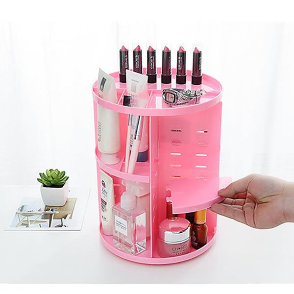 化收盒 360度旋轉收納整理架 化妝品刷具保養品 【FMD106】123ok