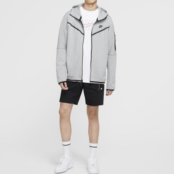 【現貨】NIKE SPORTSWEAR TECH FLEECE 男裝 外套 連帽 棉質 口袋 灰【運動世界】CU4490-063