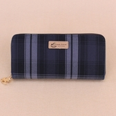 雨朵防水包 U324-1002 格紋長夾+袋