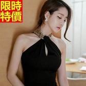 洋裝-夜店風氣質性感名媛般優雅連身短裙3色66q5【巴黎精品】