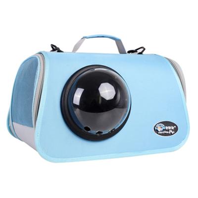 貓包 太空艙外出便攜背包寵物包貓咪外出包雙肩手提斜跨包遛貓出行【快速出貨】