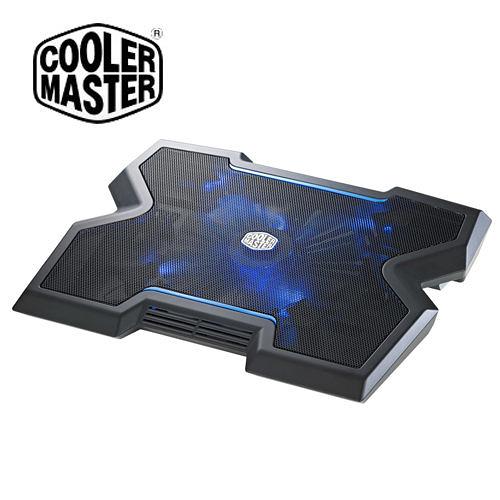 Cooler Master 酷碼 Notepal X3 黑色 筆電散熱墊 (適用7吋-17吋) R9-NBC-NPX3-GP