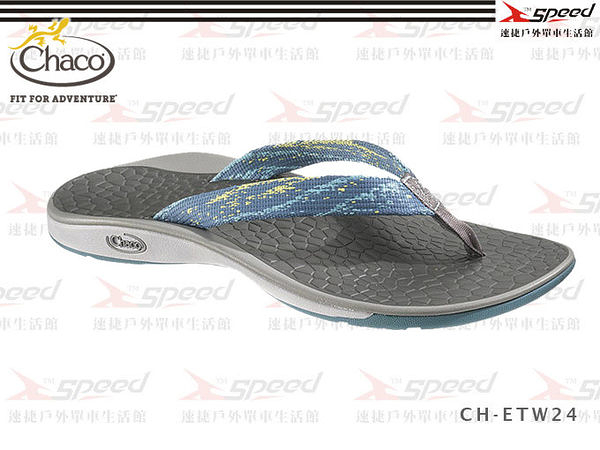 【速捷戶外】Chaco涼鞋 -  美國專業戶外休閒拖鞋 沙灘鞋 休閒鞋 Fathom CH-ETW24 女(海嘯藍)