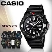 CASIO手錶專賣店 卡西歐 MRW-200H-1B 男錶  防水100米 造型指針 星期、日期顯示  塑膠錶帶