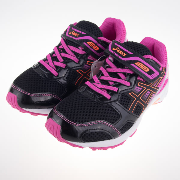 Asics  LAZERBEAM RB-MG 兒童 黏扣慢跑鞋 C728N-9090
