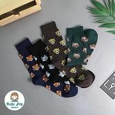 【正韓直送】韓國襪子 滿版兇猛動物加大男性中筒襪 男襪 長襪 禮物 型男必備 哈囉喬伊 M50