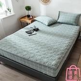 單件床包純棉水洗夾棉床笠床套加厚床罩床墊保護套防滑【匯美優品】