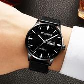 手錶 2021新款男錶防水手錶男士學生韓版簡約潮流休閒石英時尚非機械錶 米娜小鋪