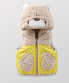 Hallmark Babies 《Forever Friends》嬰兒秋冬尼龍保暖雙面穿背心外套 FD3-N06-04-BU-NI