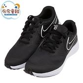 《布布童鞋》NIKE_STAR_RUNNER2黑色網布運動鞋(17~22公分) [ P1E801D ]