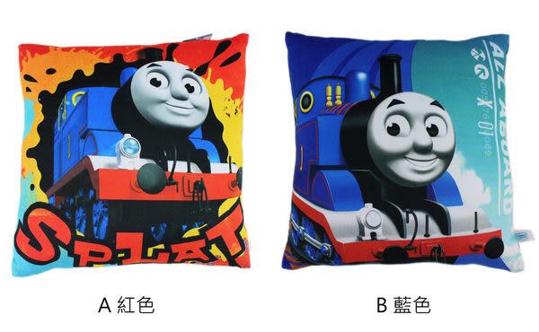 【卡漫城】湯馬士小火車頭 方形 抱枕 只剩A款 ㊣版 Thomas 車車 靠墊 靠枕 枕頭 午休枕 午安枕