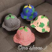 寶寶帽子春秋季3-6-12個月嬰兒盆帽2公主女童遮陽帽薄款1歲女孩0 one shoes