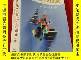 二手書博民逛書店From罕見Inquiry to Academic Writing: A Text and Reader (小16