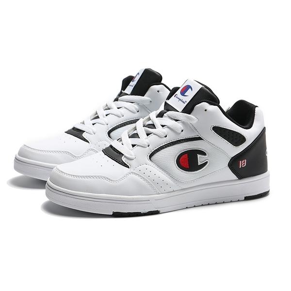 CHAMPION 籃球鞋 復古 白黑 高筒 女 (布魯克林) 911220101