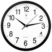 掛鐘 北極星掛鐘客廳靜音時鐘臥室時尚鐘錶辦公室12英寸簡約石英鐘 ATF 叮噹百貨