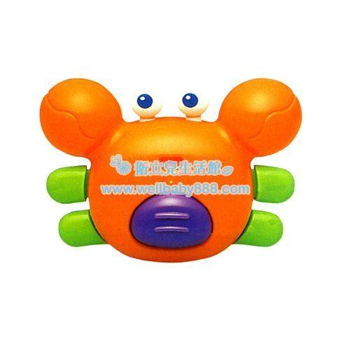 Toyroyal 樂雅 洗澡玩具-螃蟹 TF7172[衛立兒生活館]